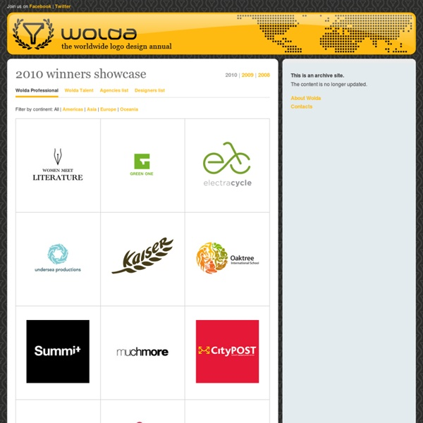 Wolda - the worldwide logo design annual