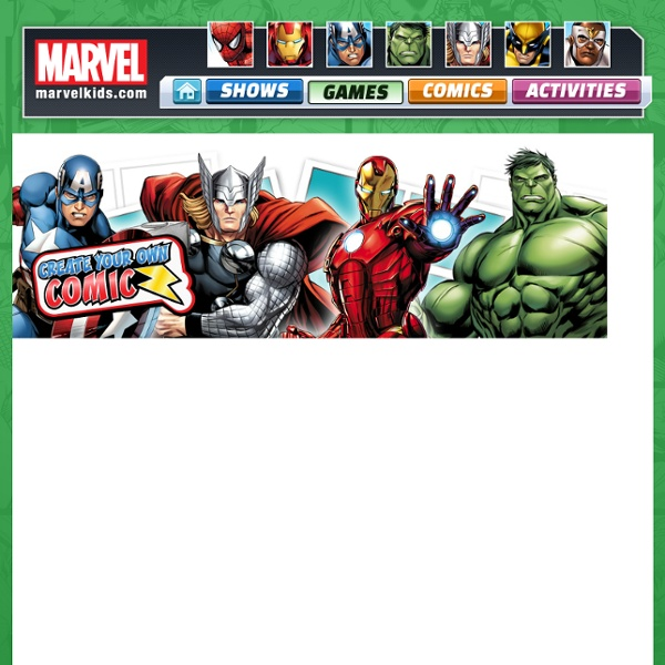 Marvel Kids Games: The Official Site - Iron Man, Spid...