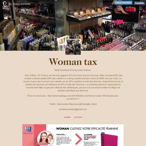 Woman tax
