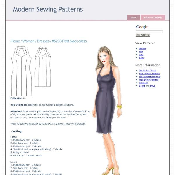 Dresses :. #5203 Petit black dress
