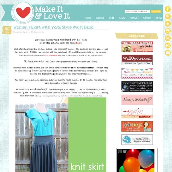 Women's Skirt with Yoga Style Waist Band