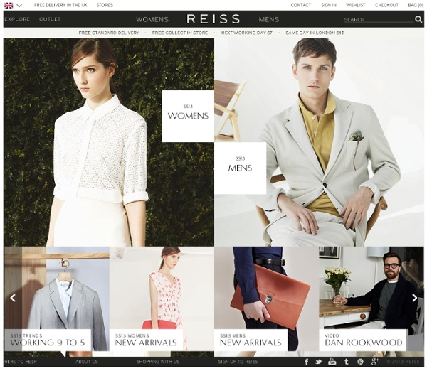 REISS Womenswear, Menswear & Accessories - Iconic Fashion Clothing