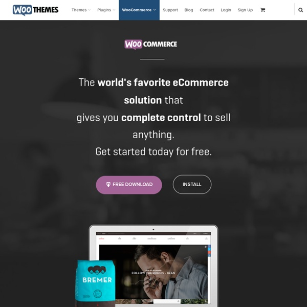 WooCommerce - a free eCommerce toolkit for WordPress
