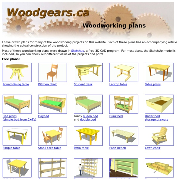 Woodworking plans | Pearltrees