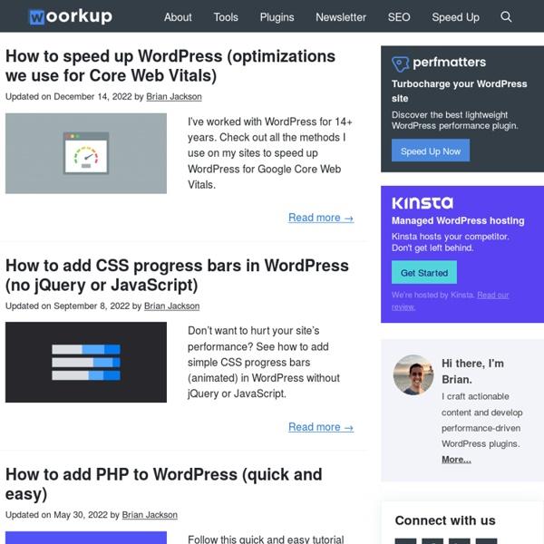 Woork Up - Web Design, Social Media, Tech News and Digital Inspiration