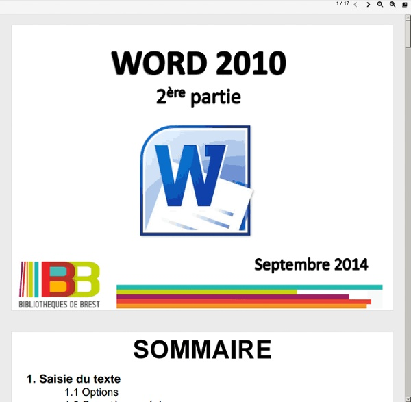 Word 2010 - 2
