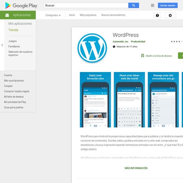 WordPress - Apps on Android Market