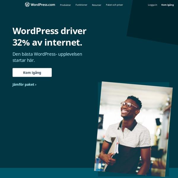 WordPress.com - Skapa en gratis webbplats och blogg här
