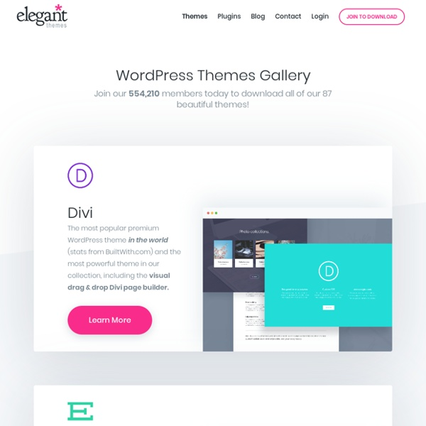 WordPress Themes Gallery