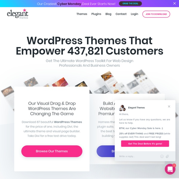 86 WordPress Themes for $39