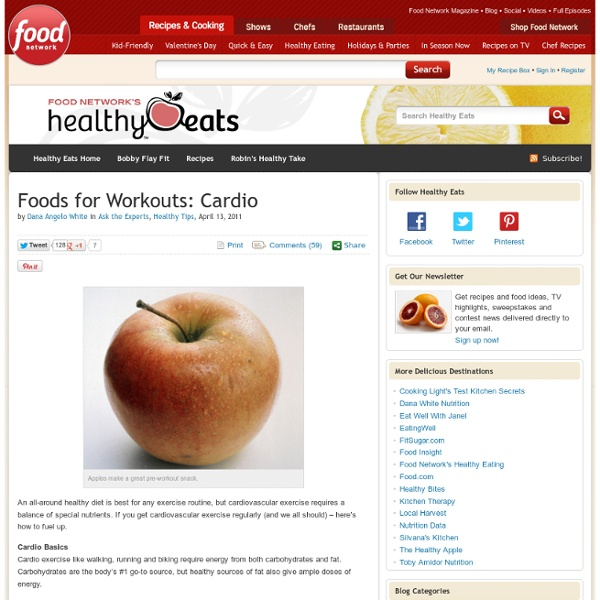 Foods for Workouts: Cardio