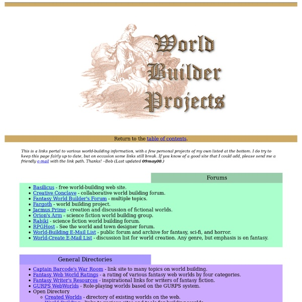 World Builder Projects