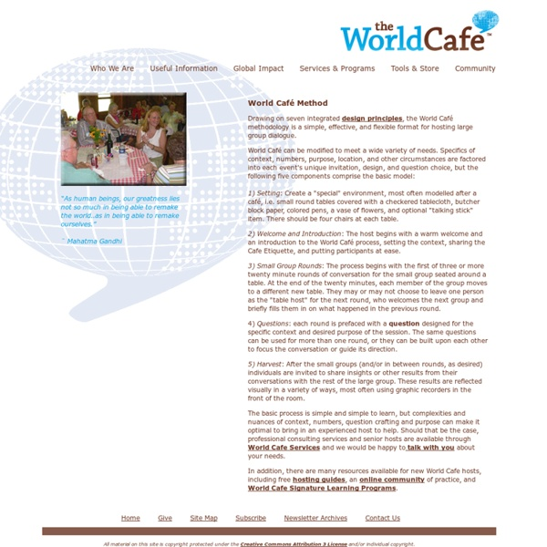 World Café Method