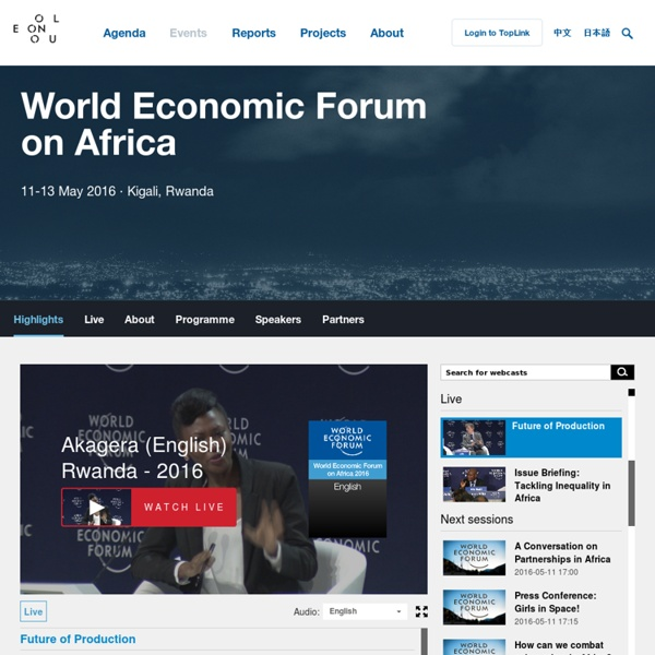 World Economic Forum-The World Economic Forum