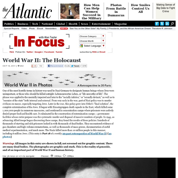 World War II: The Holocaust - Alan Taylor - In Focus