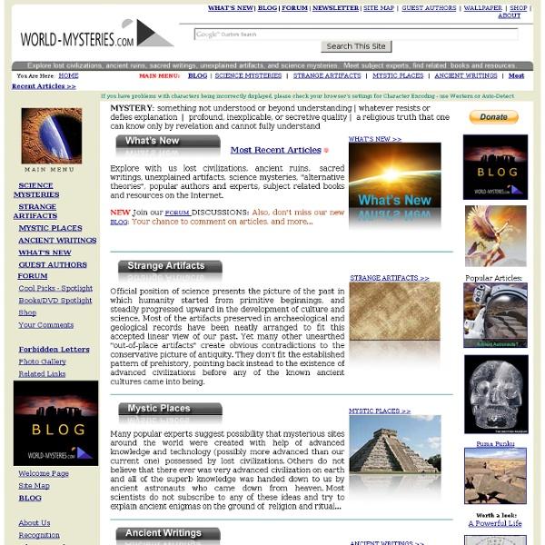 World-Mysteries.com