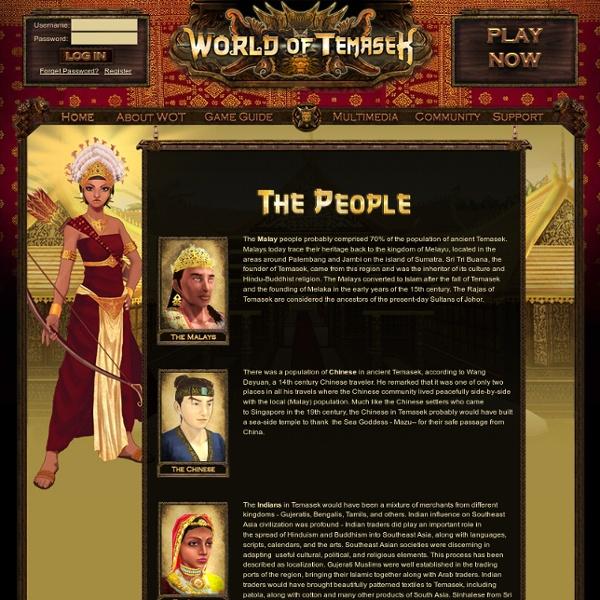 World of Temasek/The people