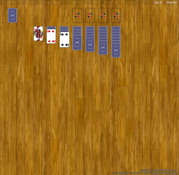 World Of Solitaire Turn One
