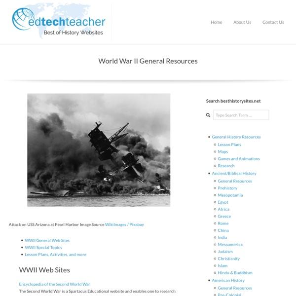 World War II General Resources