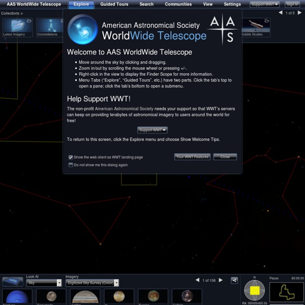 WorldWide Telescope Web Client