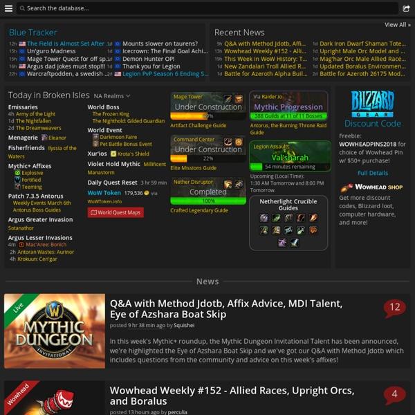 Thottbot - World of Warcraft