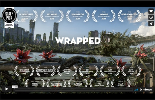 Wrapped La nature reprend ses droits en détruisant les constructions de l'Homme.