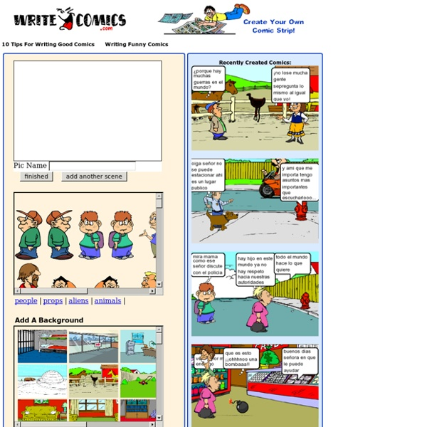 WriteComics.com - Create your own comics!