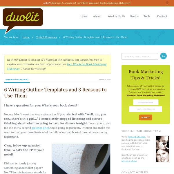 6 Writing Outline Templates and 3 Reasons to Use Them