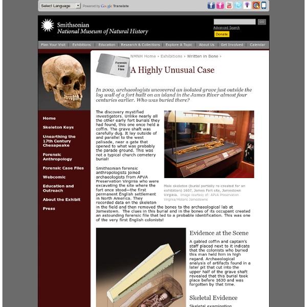 Written in Bone - A Highly Unusual Case