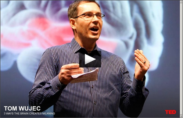 Tom Wujec on 3 ways the brain creates meaning