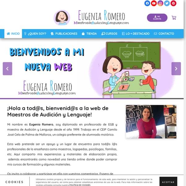 Materiales para trabajar Audición y Lenguaje por Eugenia Romero