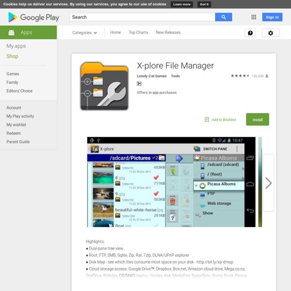 X-plore File Manager - Приложения на Google Play