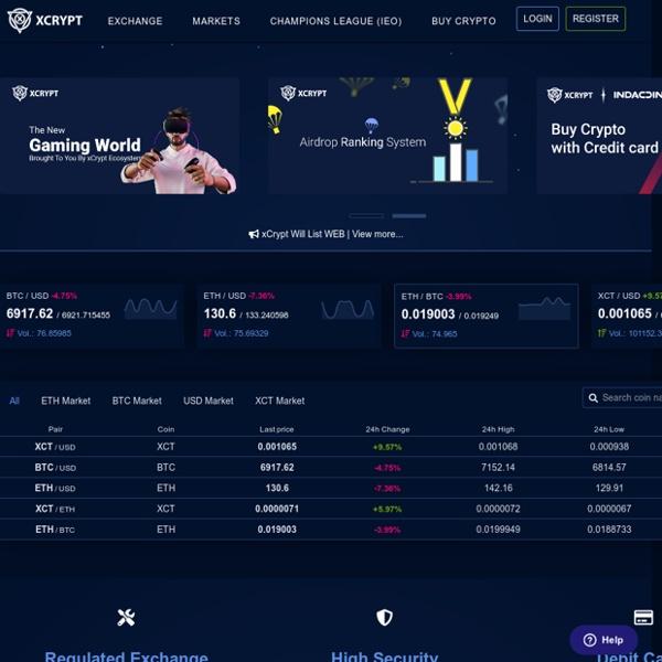 xCrypt - Digital Asset Exchange
