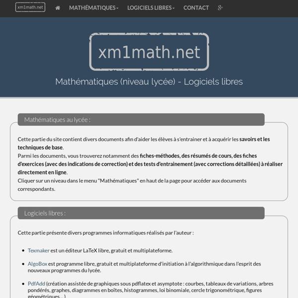 Xm1 Math