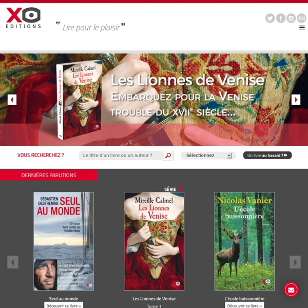 Editions XO : Lire pour le plaisir