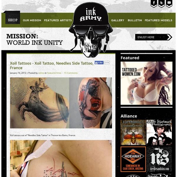 French Tattoo Artist
