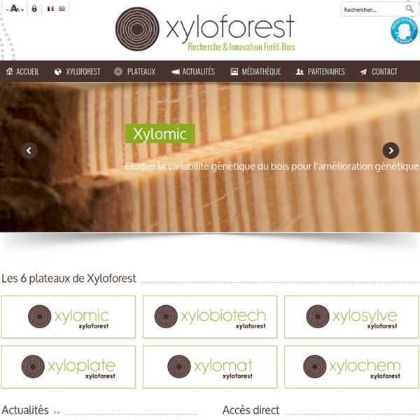 """XYLOFOREST - Plateforme d'innovation """"Forêt-Bois-Fibre‐Biomasse du Futur"""" - Accueil"""