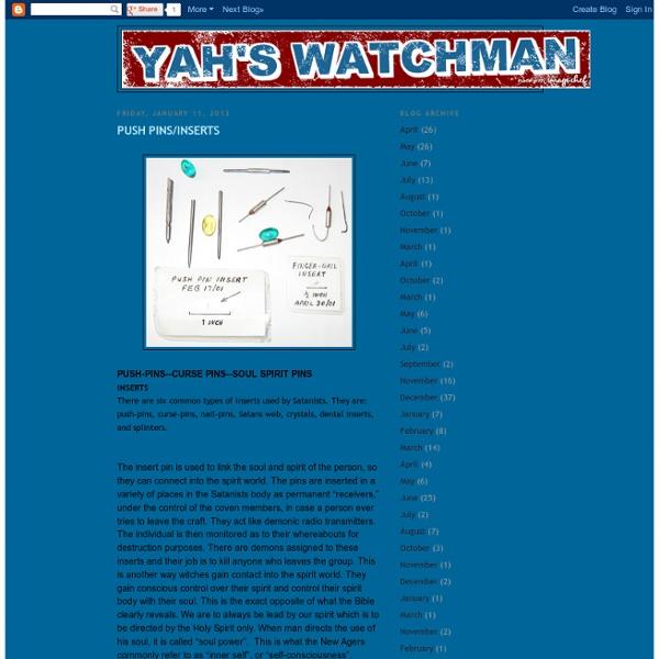 YAH'S WATCHMAN