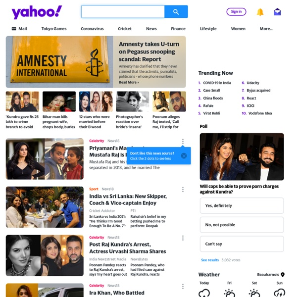 yahoo in india At yahoo finance, you get free stock quotes, the latest news, portfolio management resources, international market data, social interaction and mortgage rates to help you manage your financial life.