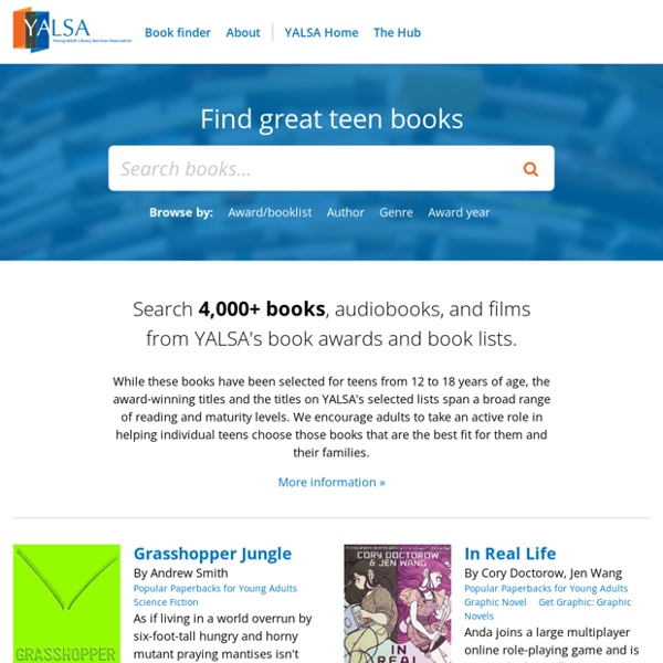 YALSA Book Finder