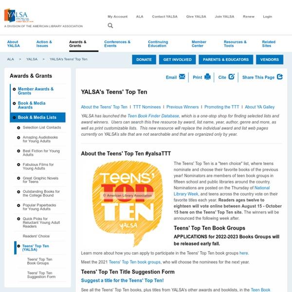 Teen Read Week and Teen Tech Week: Tips - alastoreala