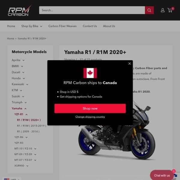 Yamaha R1 / R1M 2020+ Carbon Fiber Fairings and Parts – RPM Carbon