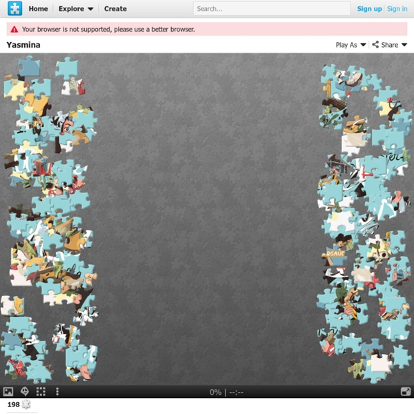 Jeu- Un puzzle de 200 pièces avec Yasmina