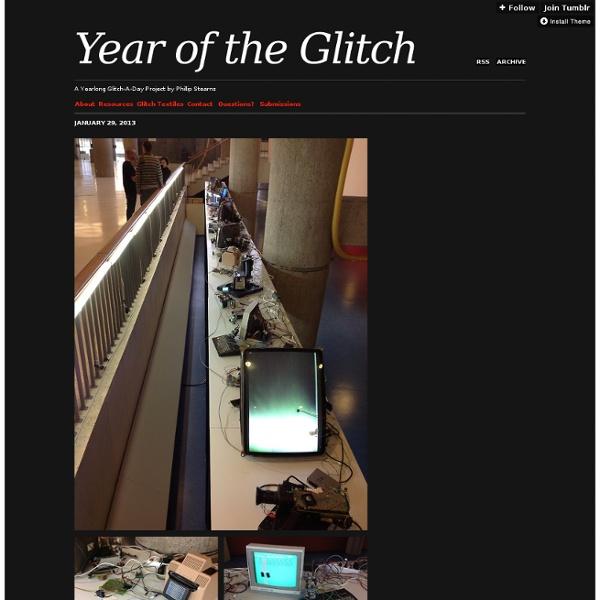 Year of the Glitch