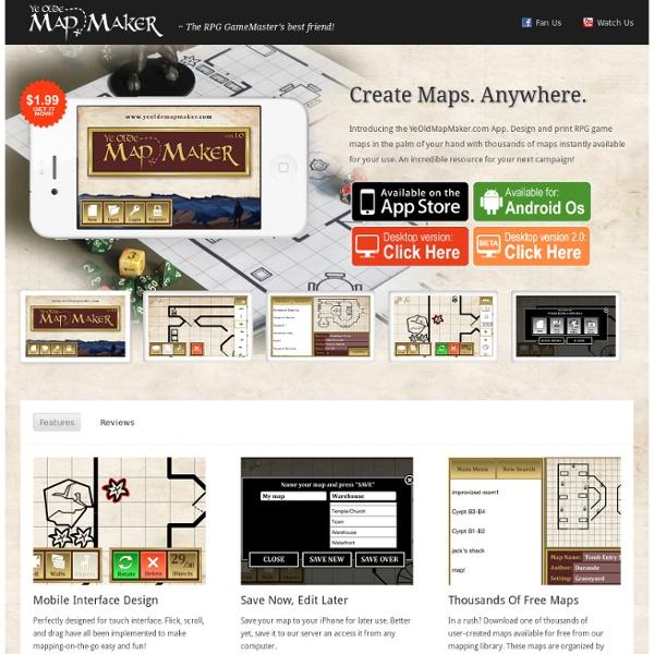 Ye Olde Map Maker | Pearltrees