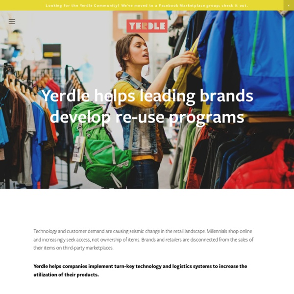 Yerdle - why shop when you can share? - yerdle