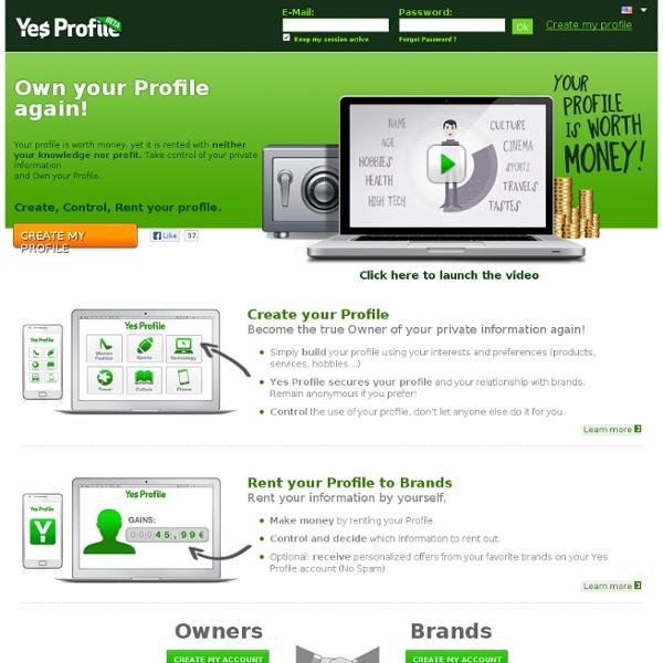 Yes Profile - Redevenez proprietaire de votre profil