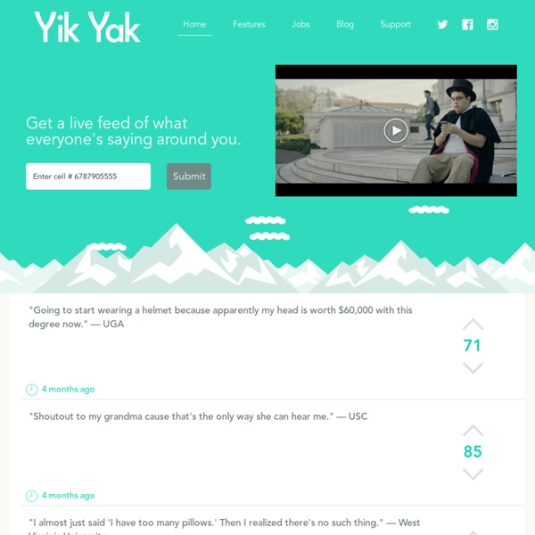 Yik Yak - Ride the Yak