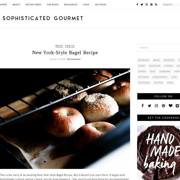 New York-Style Bagel Recipe