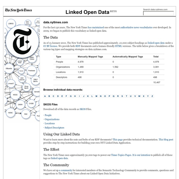 New York Times - Linked Open Data